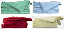 Microfiber Cloths - 4 Color Assortment