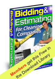 bidding estimating for cleaning companies downloadable ebook