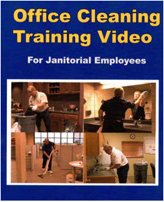 Office Cleaning Training Video / DVD for Janitorial Employees