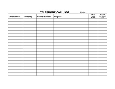 Telephone Number Template. Telephone Number Practice Template