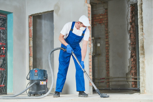 Providing Post Construction Clean Up Services
