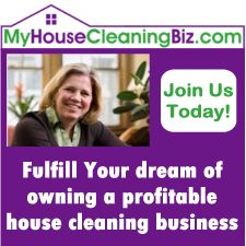 Resources to help you start and grow a residential house cleaning business or maid service.