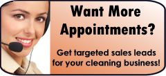 Want more appointments for your cleaning business? Click Here!