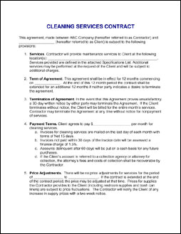 sample service contract agreement template .