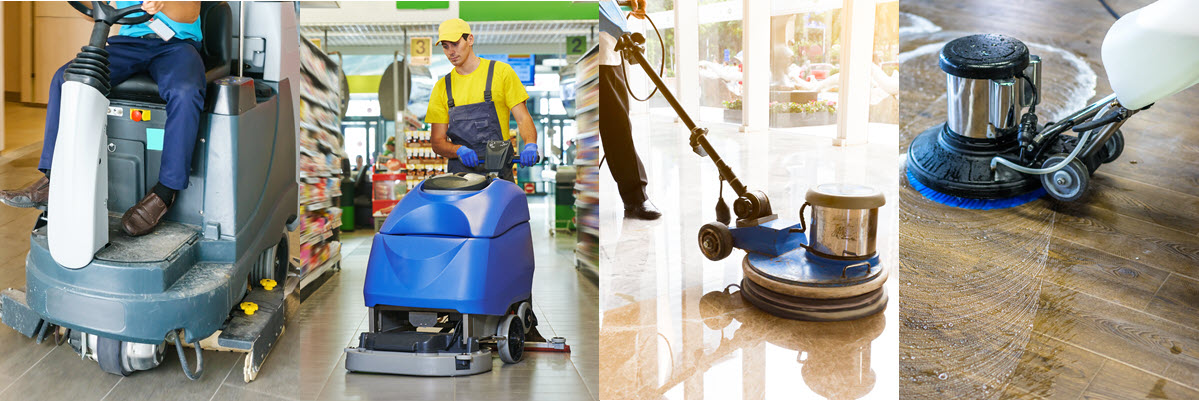 Commercial Floor Cleaning Machines And