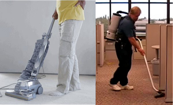 Reduce Back Pain By Utilizing Pack Vacuums Instead Of Uprights