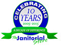 The Janitorial Store Celebrates 10 Year Anniversary