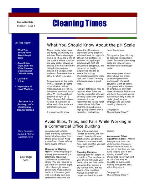 Sample Business Newsletter Business School Newsletter Business